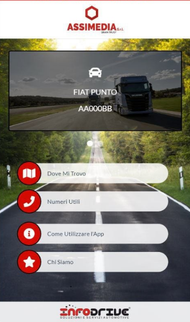 Assimedia InfoDrive App Android IOS